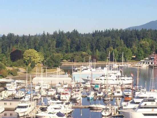 The Westin Bayshore, Vancouver: View of the harbor