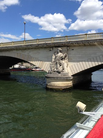 Bateaux Mouches: One of the lovely bridges