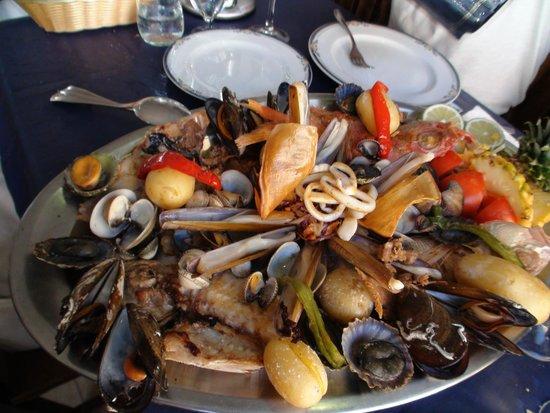 Playa Famara: Таких морепродуктов вы еще не пробовали! Ресторан Эль Соль в Калета дель Фамара.