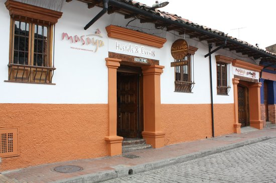 Masaya Hostel Bogotá: Entrada
