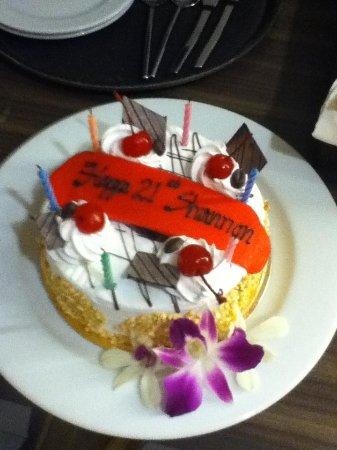 Sawaddi Patong Resort & Spa: Complimentary for my mate