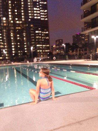 Radisson Blu Aqua Hotel : Late summer swim