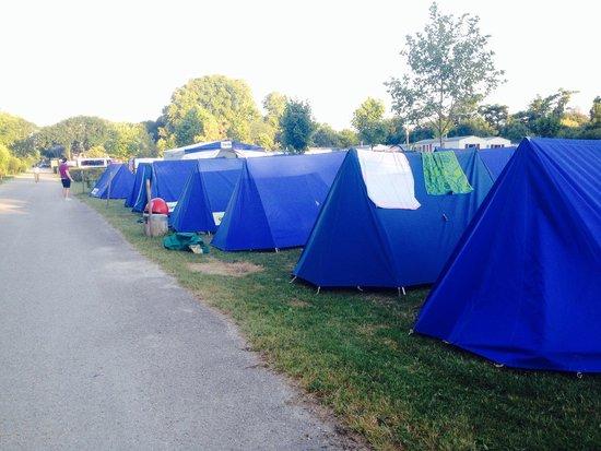 Camping Paris-Est : Our campsite