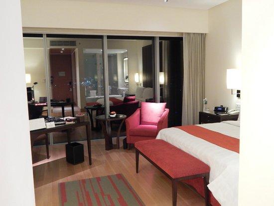 Trident Hyderabad: Room