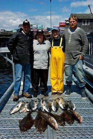 Trailhead Resort: Awesome fishing at Swiftsure Bank