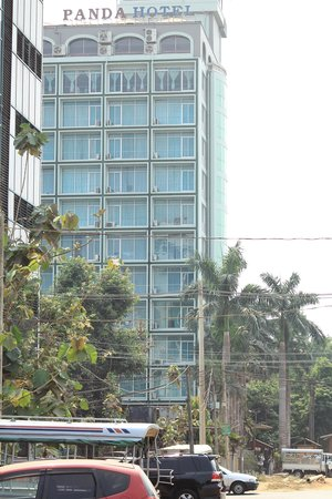 Myanmar Panda Hotel: View from the ground