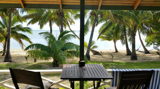 Paparei Bungalows: incredible views from deck