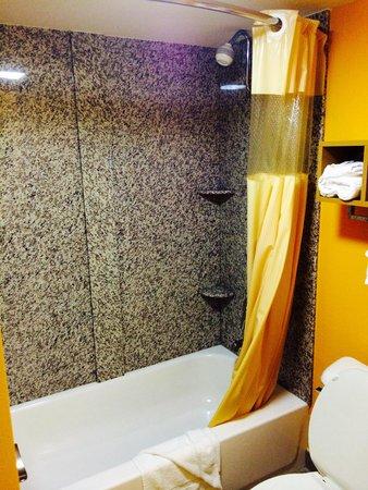 Days Inn Morrilton : Granite shower