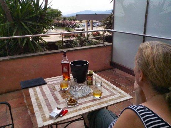 Hotel Termes de Montbrio - Resort Spa & Park : Terrasse
