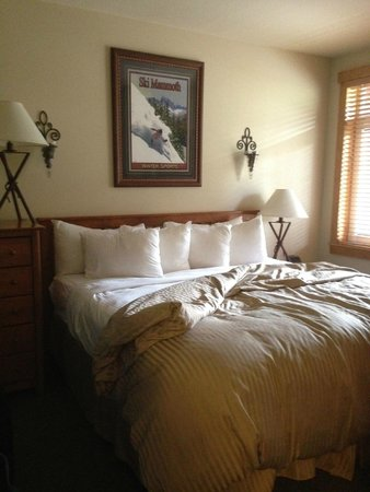 Juniper Springs Resort: Bed is very comfortable