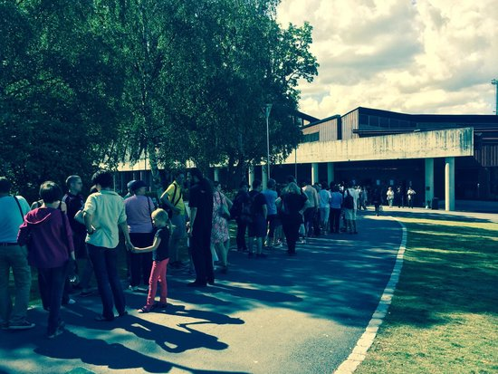 Vasa-Museum: Long lines to get in if you're not there early.