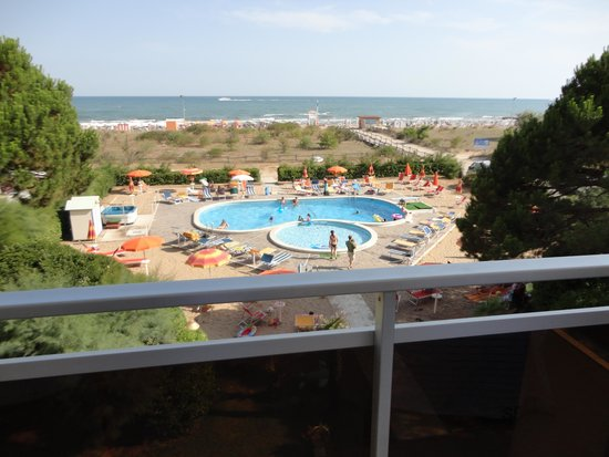 Aparthotel Harvey a Jesolo: View from the room