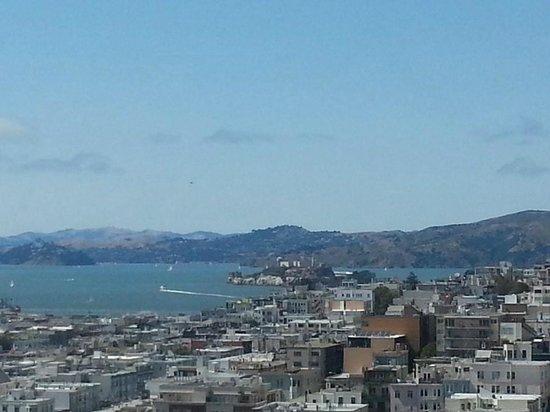 Hilton San Francisco Financial District : Alcatraz Island, San Francisco Bay