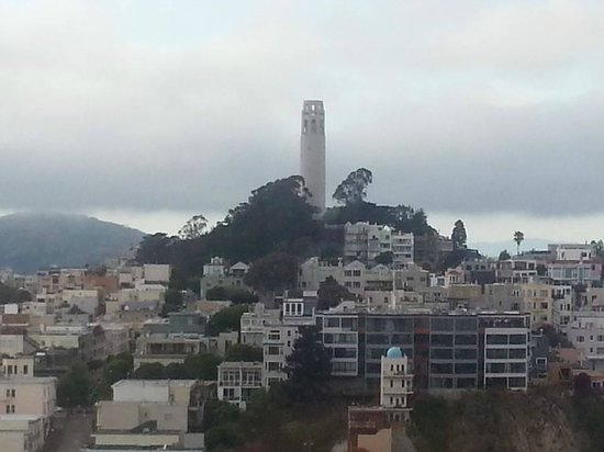 Hilton San Francisco Financial District: Coit Tower, Telegraph Hill