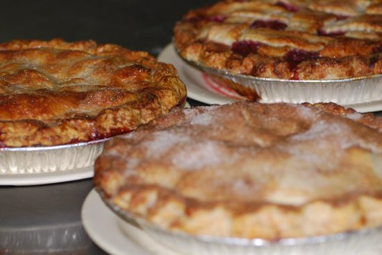 Coffee Shop Cafe: Ahhhhh that crust make our fruit pies so good!