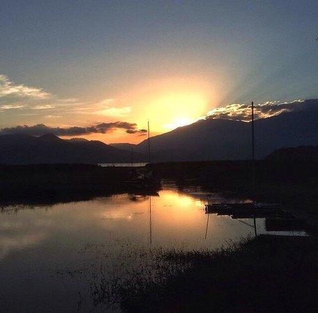 El Cortijo del Lago: Sunset