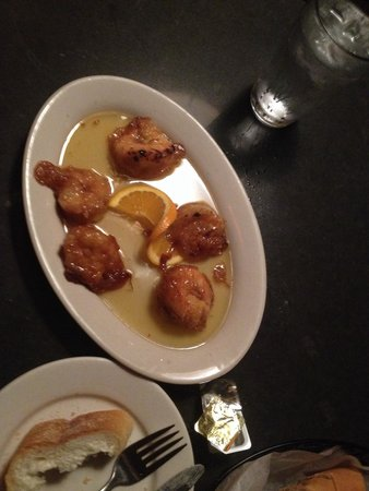 Shrimp Grand Marnier - Picture of Benevento's, Boston - TripAdvisor