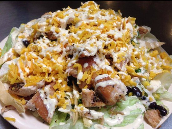 Coffee Shop Cafe : Southwest Chicken Salad