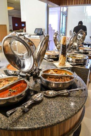 Ibis Jaipur : Buffet Dinner Layout in Restaurant