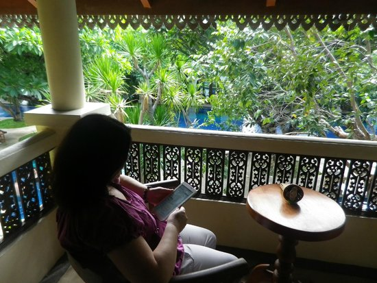 Khum Phaya Resort & Spa, Centara Boutique Collection : Balcony off room