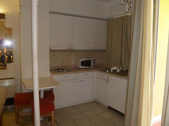 Hotel Oriental : kitchenette