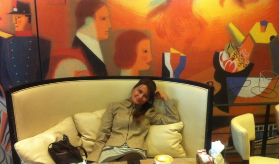 Caffe Titano : Relax after great day:)