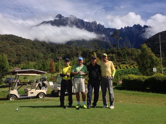 Mount Kinabalu Golf Club: The highest golf course in Malaysia at over 5000feet!