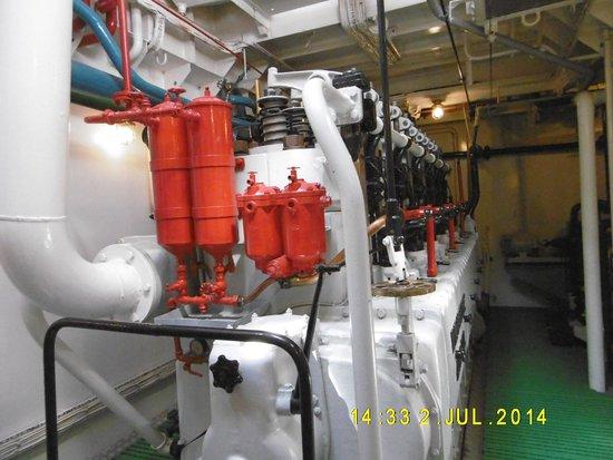 Museumschip Amandine : Engine Room