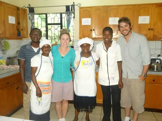 Worlds Collide Africa House: The staff at Pamoja Guesthouse...kind, caring and lovely