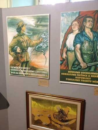 Posters at the Museum of Communism.