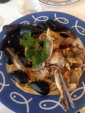 Ristorante Bagni Delfino: Pasta sea food