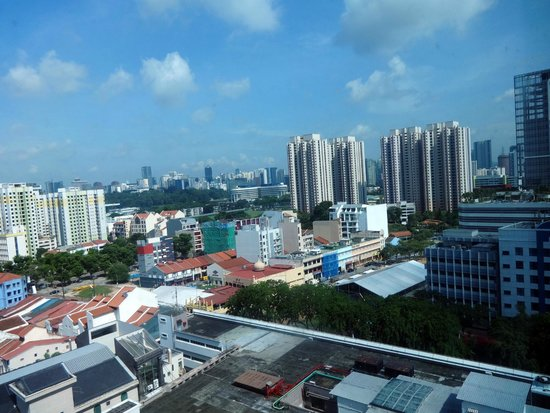 PARKROYAL on Kitchener Road: View from room