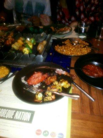 Barbeque Nation: Food