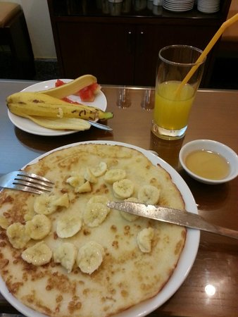 Hanoi Culture Hostel : Yummy pancake