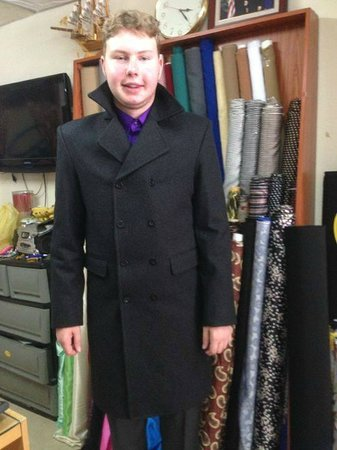 100% Cashmere coat - Picture of Manhattan Tailor Chiangmai, Chiang ...