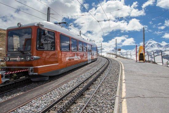 Gornergrat Bahn train