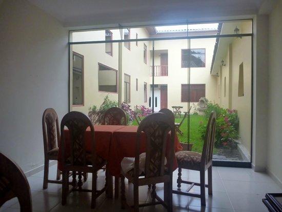 Hotel Casa de Mama Valle: Dining room