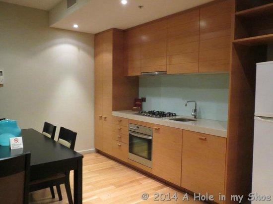 The Sebel Residences Melbourne Docklands: Nice kitchen