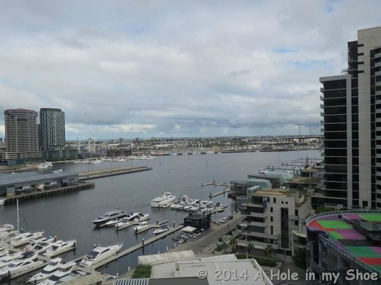 The Sebel Residences Melbourne Docklands : View from our balcony