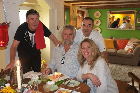 The Little Cornish B&B: Birthday Brekkie with the Andy and Howie