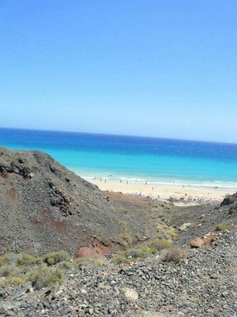Hotel Esquinzo Beach Fuerteventura: Türkisblaues Meer