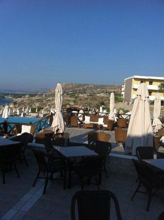 Kalithea Horizon Royal: Aussicht vom Restaurant