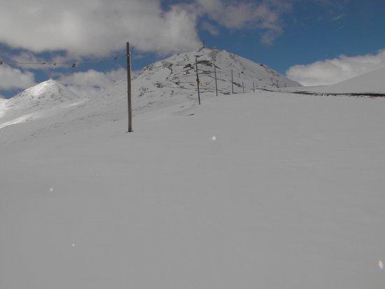 Mottolino Fun Mountain: Still upward to the top