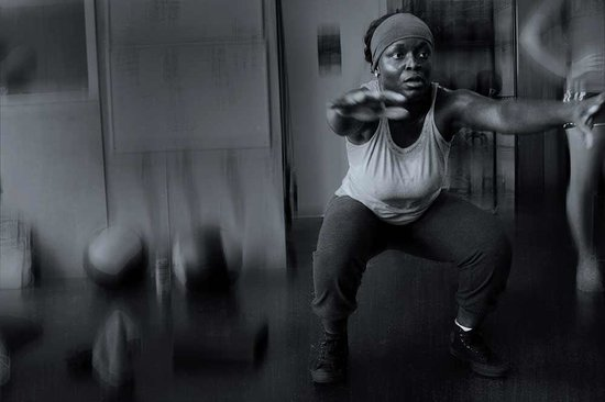 The Training Box and CrossFit Estero : The air squat