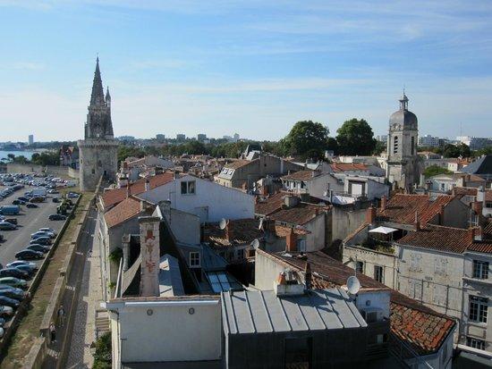 Tours de La Rochelle : Вид на город сверху