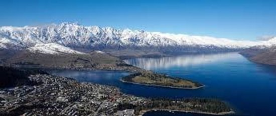 Pounamu Apartments: Views from The Gondola in Queenstown