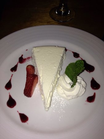 Seafood Peddler : Lemon cheesecake! Mmm!