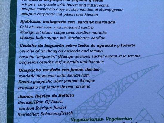 Restaurante Albacara: Unique, delicious food choices