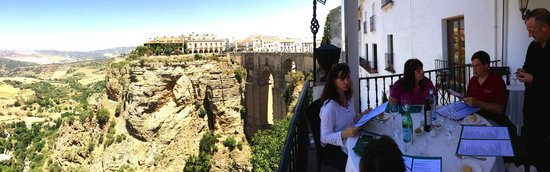 Restaurante Albacara: The Bridge in Ronda
