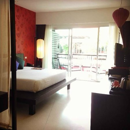 Red Ginger Chic Resort : Superior Room - spacious and clean